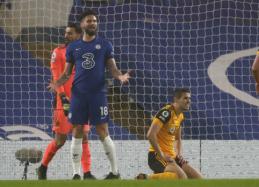 """Visą rungtynių laiką dominavusi """"Chelsea"""" nesugebėjo palaužti """"Wolves"""""""