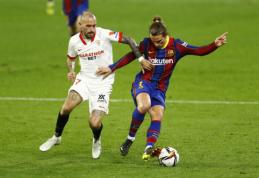 """""""Barcelona"""" turėjo pripažinti """"Sevilla"""" pranašumą"""