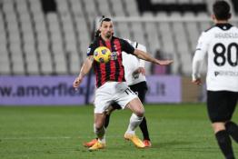"""""""Milan"""" nesugebėjo įveikti """"Spezia"""""""