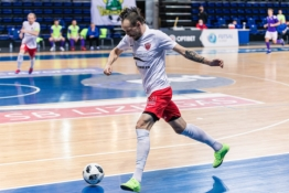 Trys komandos užbaigė reguliarųįį Futsal A lygos sezoną