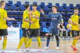 """""""Kauno Žalgiris"""" penktą kartą iš eilės iškovojo Futsal LFF taurę"""