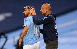 """P. Guardiola: """"Aguero yra nepakeičiamas"""""""
