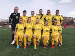 Lietuvos moterų rinktinės pergalė pažymėta įvarčių rekordu