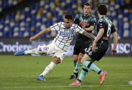 """""""Inter"""" prarado taškus Neapolyje"""
