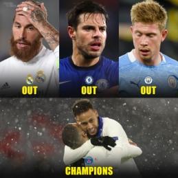 Jei UEFA imsis sankcijų prieš Superlygos įkūrėjus, PSG taps ČL nugalėtoja