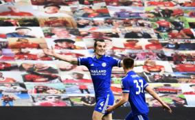 """""""Leicester"""" pergalė """"Old Trafforde"""" garantavo """"Man City"""" ekipai čempionų titulą"""