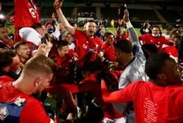 """""""Lille"""" komanda – naujoji Prancūzijos čempionė"""