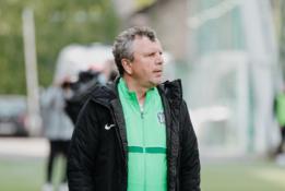 """V. Čeburinas: """"Taip futbolas dabar žaidžiamas visoje Europoje"""""""