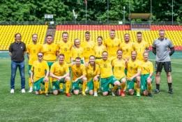 Europos čempionato proga draugiškose rungtynėse susitiko LFF ir VU komandos