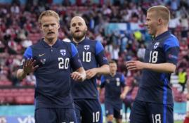 Pratęstose Danijos ir Suomijos rungtynėse užfiksuota staigmena
