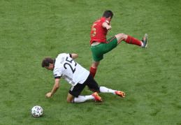 Vokietijos rinktinėje dėl traumų iškrito keturi žaidėjai