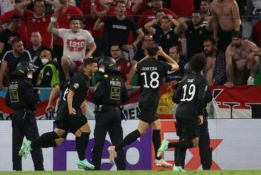 Per plauką nuo sensacijos: Vokietija išplėšė lygiąsias su Vengrija ir lieka EURO 2020