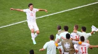 8 įvarčių trilerį po pratęsimo laimėjusi Ispanijos rinktinė – EURO2020 ketvirtfinalyje