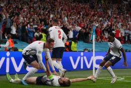 Anglija – EURO 2020 finale