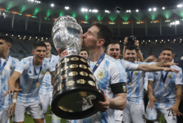 L. Messi pagaliau iškovojo trofėjų su Argentinos rinktine