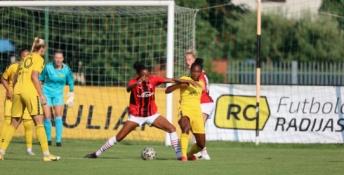 """""""Gintra"""" tik per plauką neparklupdė garsiojo """"AC Milan"""""""