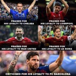 Kritikos dėl lojalumo sulaukiantis L. Messi