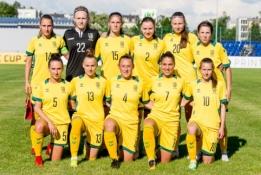 Paskelbta nacionalinės moterų rinktinės sudėtis rungtynėms prieš Italiją