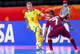 Septintoji Futsal čempionato diena: ar lietuviai įveiks kostarikiečius?