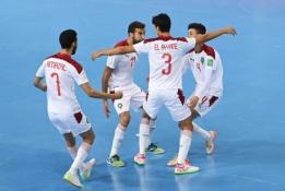 Futsal: pirmieji į aštuntuką žengė rusai ir Marokas