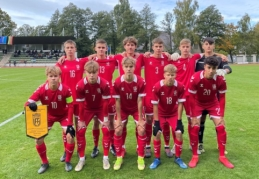Švedai nusivalė kojas į Lietuvos U–17 rinktinę