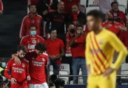 """""""Benfica"""" sutriuškino """"Barcelona"""" ir paliko katalonus be taškų"""