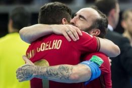 Pasaulio futsal čempionato finale triumfavo Portugalija