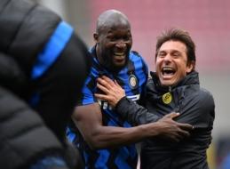 """A. Conte: """"Nemanau, kad """"Chelsea"""" kol kas tinkamai išnaudoja Lukaku"""""""