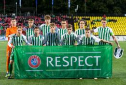 """G. Jarusevičius po debiuto UEFA jaunimo lygoje: """"Pamatėme, kad galime žaisti"""""""