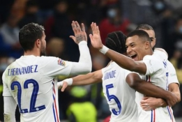 Prancūzijos rinktinė pasiekė unikalų rekordą