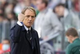 """R. Mancini: Jorginho, mano nuomone, turėtų laimėti """"Ballon d'Or"""""""