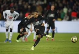 """PSG išvargo pergalę prieš """"Angers"""""""