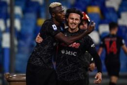 """Vėlyvas V. Osimheno įvartis leido """"Napoli"""" ekipai tęsti pergalių seriją"""