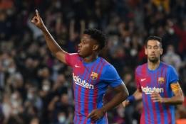 """""""Barcelona"""" – pažengusiose derybose su A. Fati dėl naujo kontrakto"""