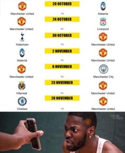 """""""Man Utd"""" laukia sudėtingas tvarkaraštis"""