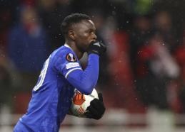"""Keturi P. Daka įvarčiai atvedė """"Leicester"""" į pirmąją pergalę Europos lygoje"""