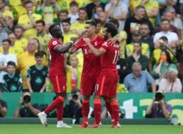 """P. Mersonas: """"Salah, Mane ir Firmino vėl yra geriausias priekinis trejetas pasaulyje"""""""
