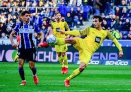 """Bundeslyga: """"Bayern"""" ir BVB iškovojo užtikrintas pergales"""