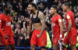 """""""Watford"""" per 15 minučių sugniuždė """"Everton"""" viltis"""