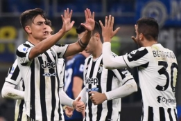 """P. Dybalos 11 m baudinys išplėšė """"Juventus"""" tašką prieš """"Inter"""""""