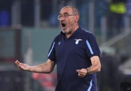 """M. Sarri apkaltino """"Lazio"""" žaidėjus maištu"""