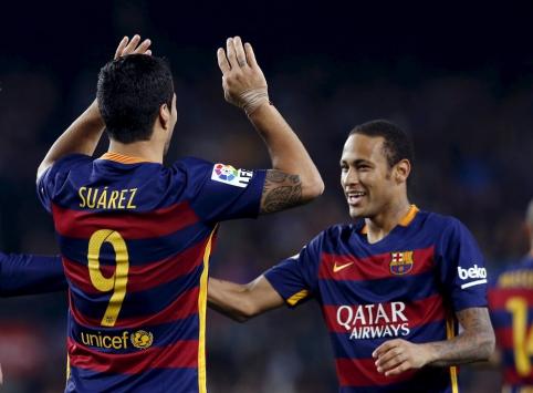 """L.Suarezo įvarčiai sugniuždė """"Eibar"""" vienuolikę, """"Atletico"""" įveikė """"Valencia"""" (FOTO, VIDEO)"""