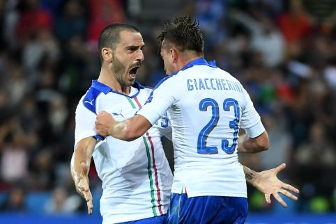 Italija sugrąžino ambicingus belgus į realybę (FOTO, VIDEO)