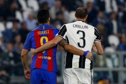 """Čempionų lyga: """"Juventus"""" - """"Barcelona"""""""