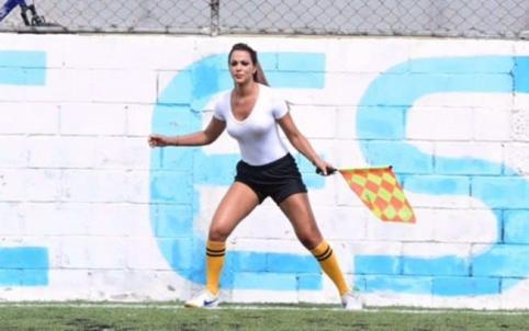 Seksuali teisėja Brazilijoje žaidėjams atėmė žadą