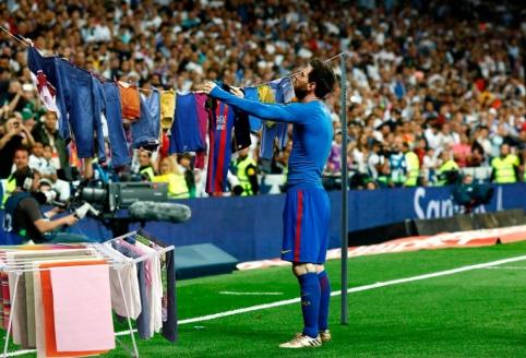 """Linksmai: """"Barcelona"""" pergalė """"El Clasico"""""""