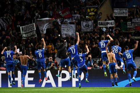 """ČL pusfinalis: """"Monaco"""" - """"Juventus"""""""
