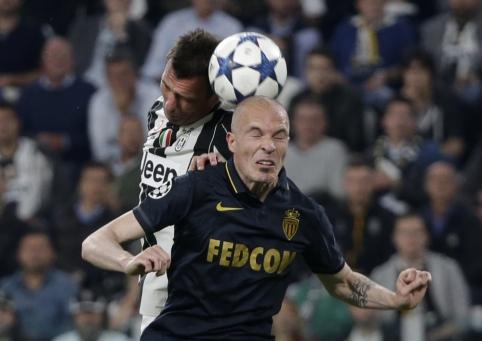 """ČL pusfinalis: """"Juventus"""" - """"Monaco"""""""