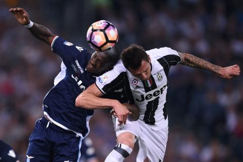 """""""Juventus"""" įveikė """"Lazio"""" ir trečiąkart iš eilės laimėjo """"Coppa Italia"""" (VIDEO)"""