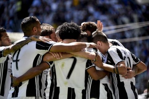"""""""Juventus"""" įveikė """"Crotone"""" ir tapo """"Serie A"""" čempionais"""